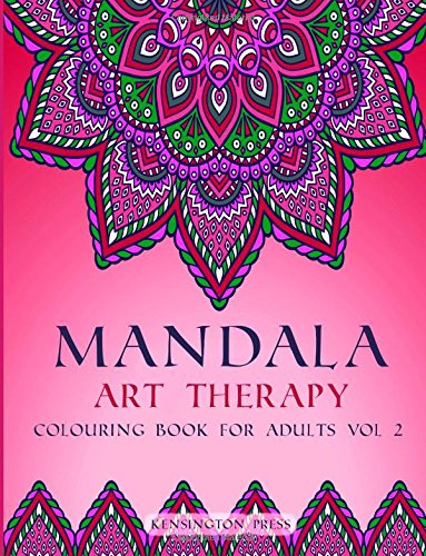 Download Mandala Art Therapy: Colouring Book for Adults (Volume 2) pdf