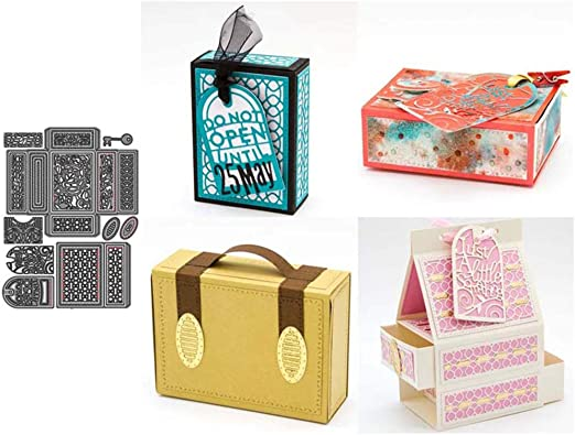 DIY Accessory Handicraft Gift Box Emboss Cutting Die for Card Making Decor