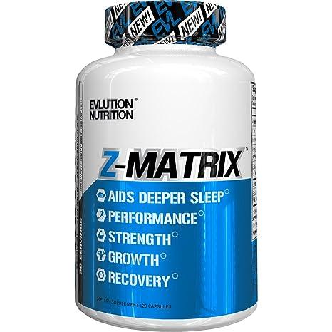 Evlution Nutrition Z-MATRIX | Suplemento De Zinc Y Magnesio Mejora La Calidad Del Sueño