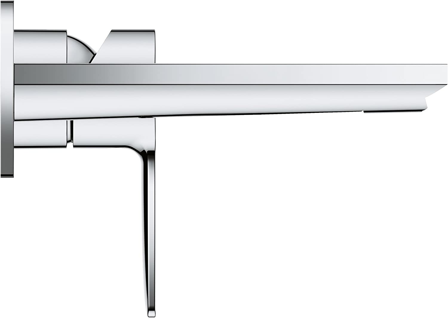 Supersteel Taille L GROHE 23444DC1 Lineare Mitigeur 2 trous lavabo