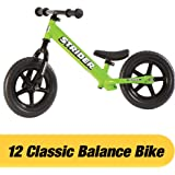 Strider 12 Classic No-Pedal Balance Bike (Green)