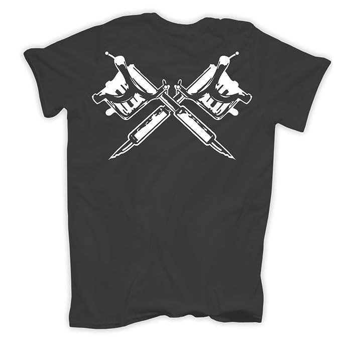 Männer und Herren T-Shirt Schmerz & Souvenir (mit Rückendruck): Amazon.de:  Bekleidung