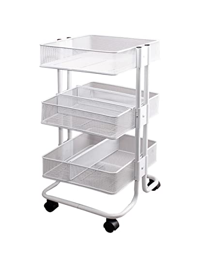 Amazon Com Storage Studios Mobile Craft Cart With Dividers 27 5 X