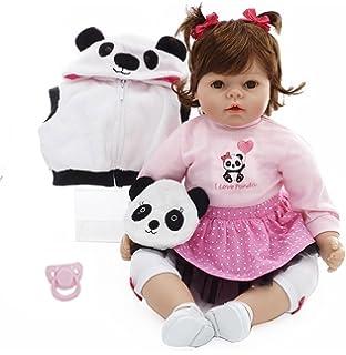 Pursue Baby Melissa - Munecas Reborn Niña Bebe Realista Peso Agregado, Piel de Vinilo RealTouch