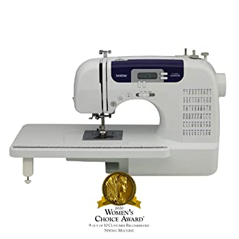 Brother Computerized Sewing and Quilting Machine CS6000i