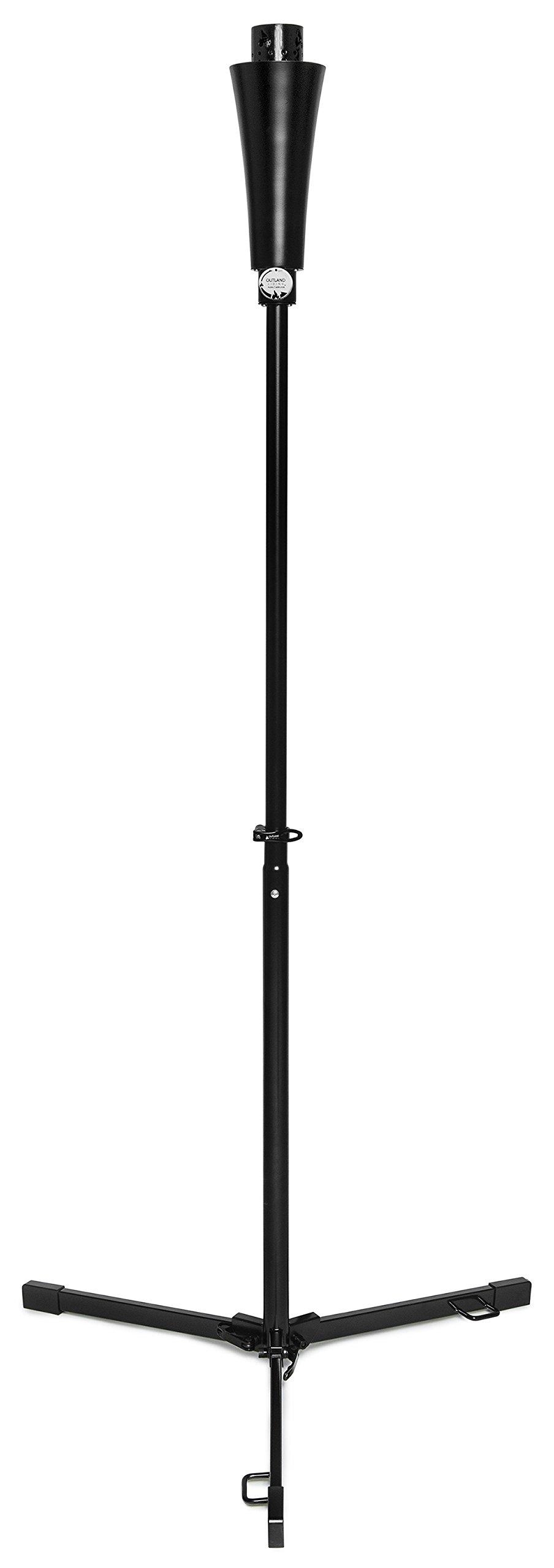 Outland Tonga 71-Inch Portable Propane Gas Outdoor Torch - for Backyard Garden Patio Deck, 7,000 BTU