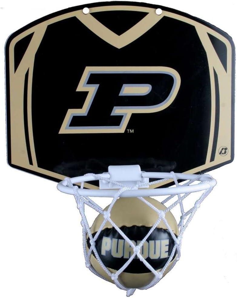 Purdue Boilermakers Mini Basketball and Hoop Set