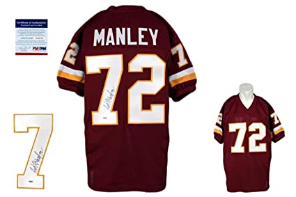 100% authentic 6cedf 416f7 Autographed Dexter Manley Jersey - PSA/DNA Certified ...