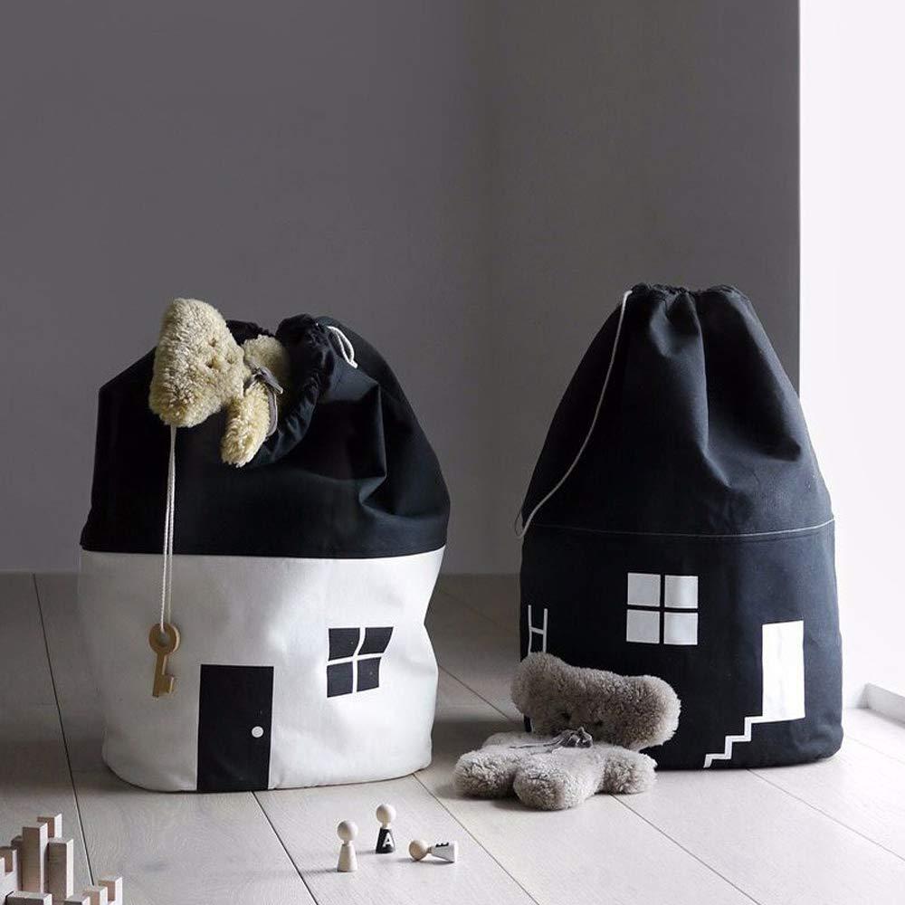 cesto portabiancheria per cameretta bambini soggiorno bagno secchio giocattolo Borsa portaoggetti