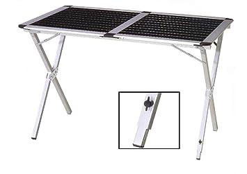 camping rolltisch, aluminium,gartentisch,tisch reisetisch ... - Rolltisch Küche
