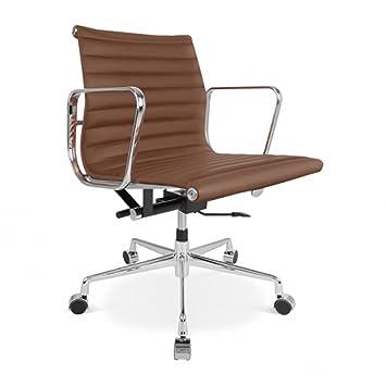 Bürostuhl eames  Eames-Bürostuhl EA 117 braun: Amazon.de: Küche & Haushalt