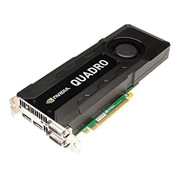 PNY Nvidia Quadro K5000 4GB Procesador gráfico Familia de procesadores de gráficos Quadro K5000 NVIDIA 4GB - Tarjeta gráfica (Quadro K5000, 3840 x ...