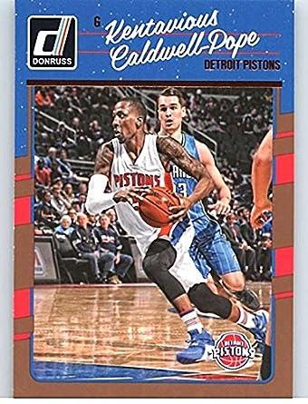 Amazon.com  2016-17 Donruss  102 Kentavious Caldwell-Pope Pistons ... 1fc82ea7c