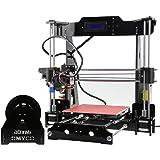 Prusa I3 Impresora 3D Self Assembly DIY Repra de Escritorio Pantalla LCD Tarjeta Montar Botiquín con Filamento 0.25KG