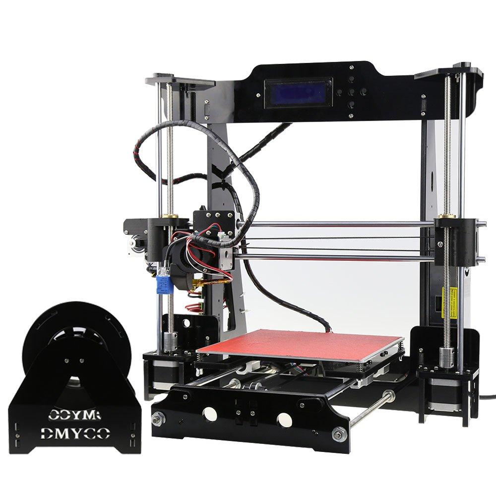 Prusa I3 Impresora 3D Self Assembly DIY Repra de Escritorio Pantalla LCD Tarjeta Montar Botiquí n con Filamento 0.25KG TRONXY