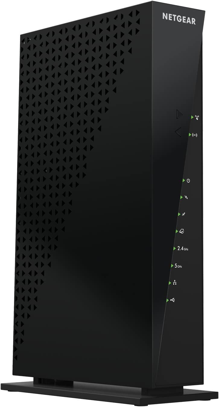Amazon Com Netgear C6300 100nar Docsis 3 0 Wifi Cable Modem Router With Ac1750 16x4 Download Speeds Certified For Xfinity From Comcast Spectrum Cox Cablevision More Renewed Black Computers Accessories