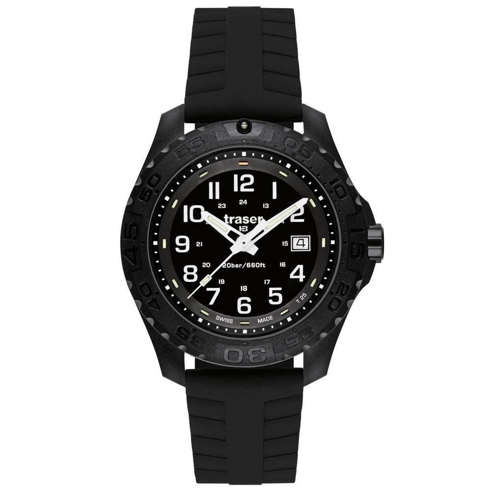 "TRASER® - traser® H3 Armbanduhr ""Outdoor Pioneer"" mit Datum - Silikonarmband H3"