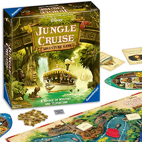 🥇 Ravensburger Disney Jungle Cruise Adventure Game for Ages 8 & Up – Amazon Exclusive