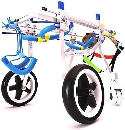 Silla de ruedas para extremidades posteriores para mascotas, rueda ...