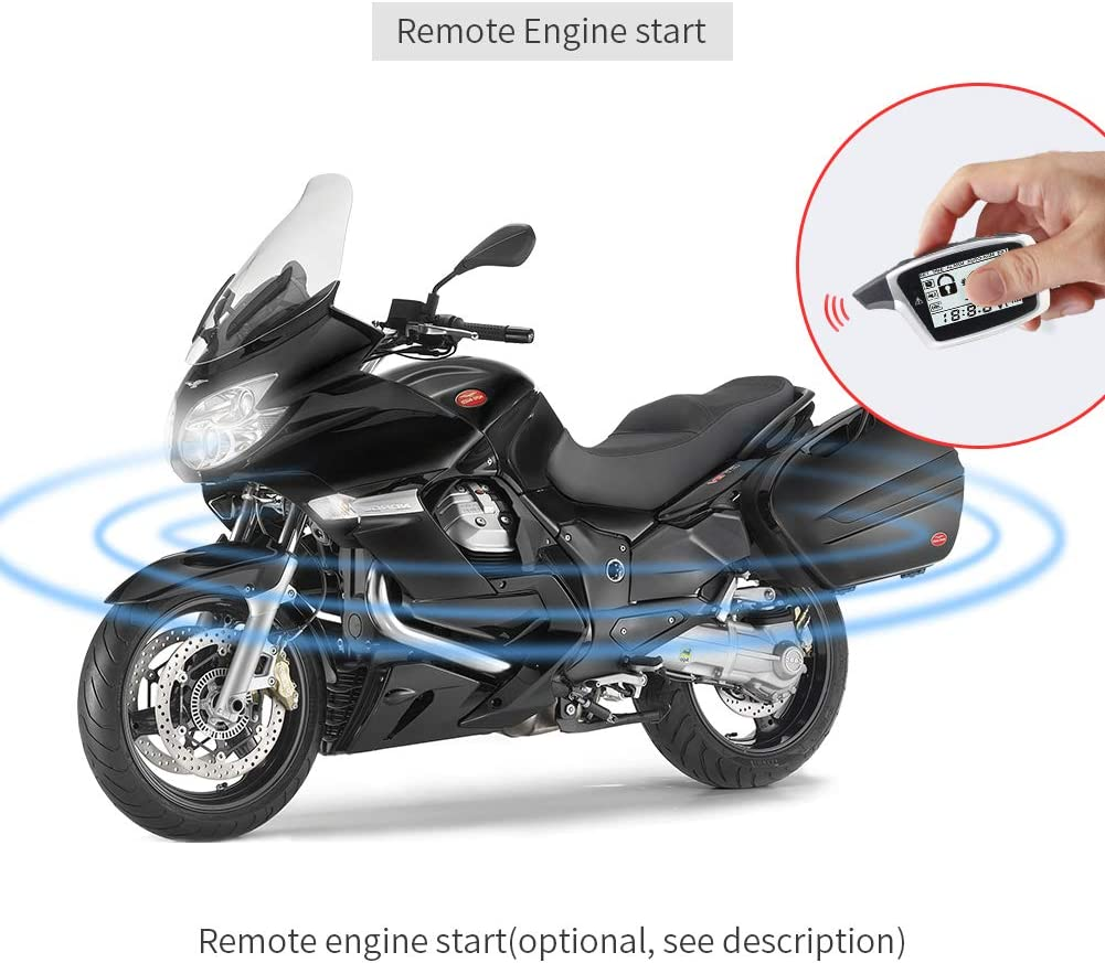 Easyguard Em212 2 Wege Motorrad Alarmanlage Mit Elektronik