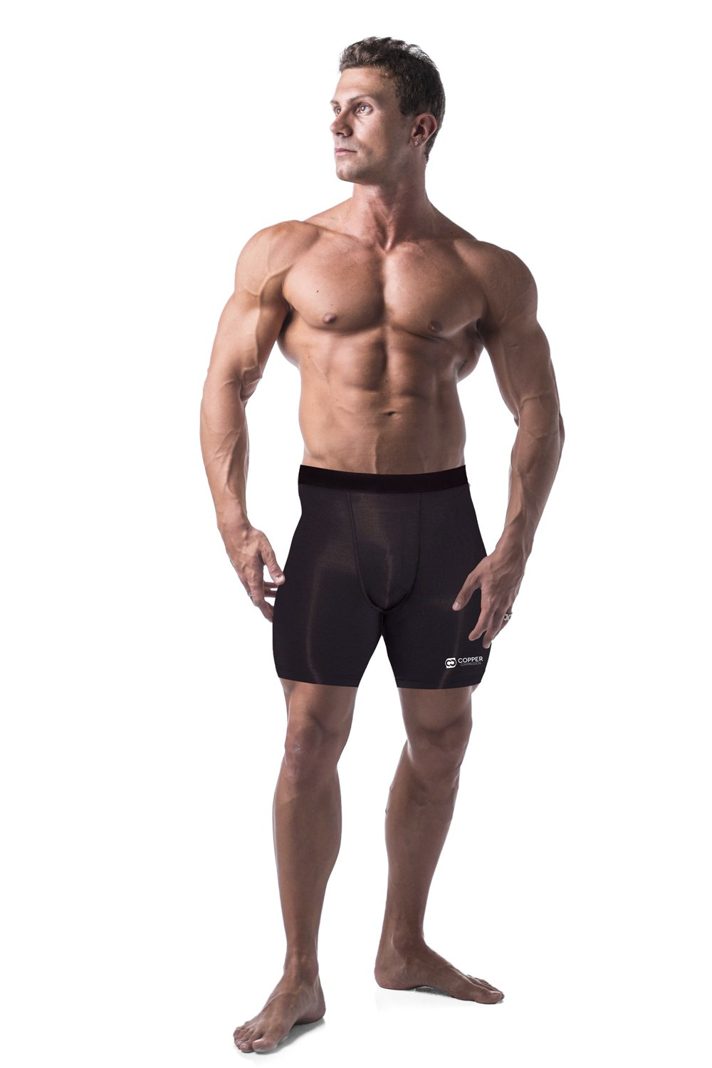 Copper Compression Recovery Shorts, Underwear, Tights, Boxer Briefs Fit For Men