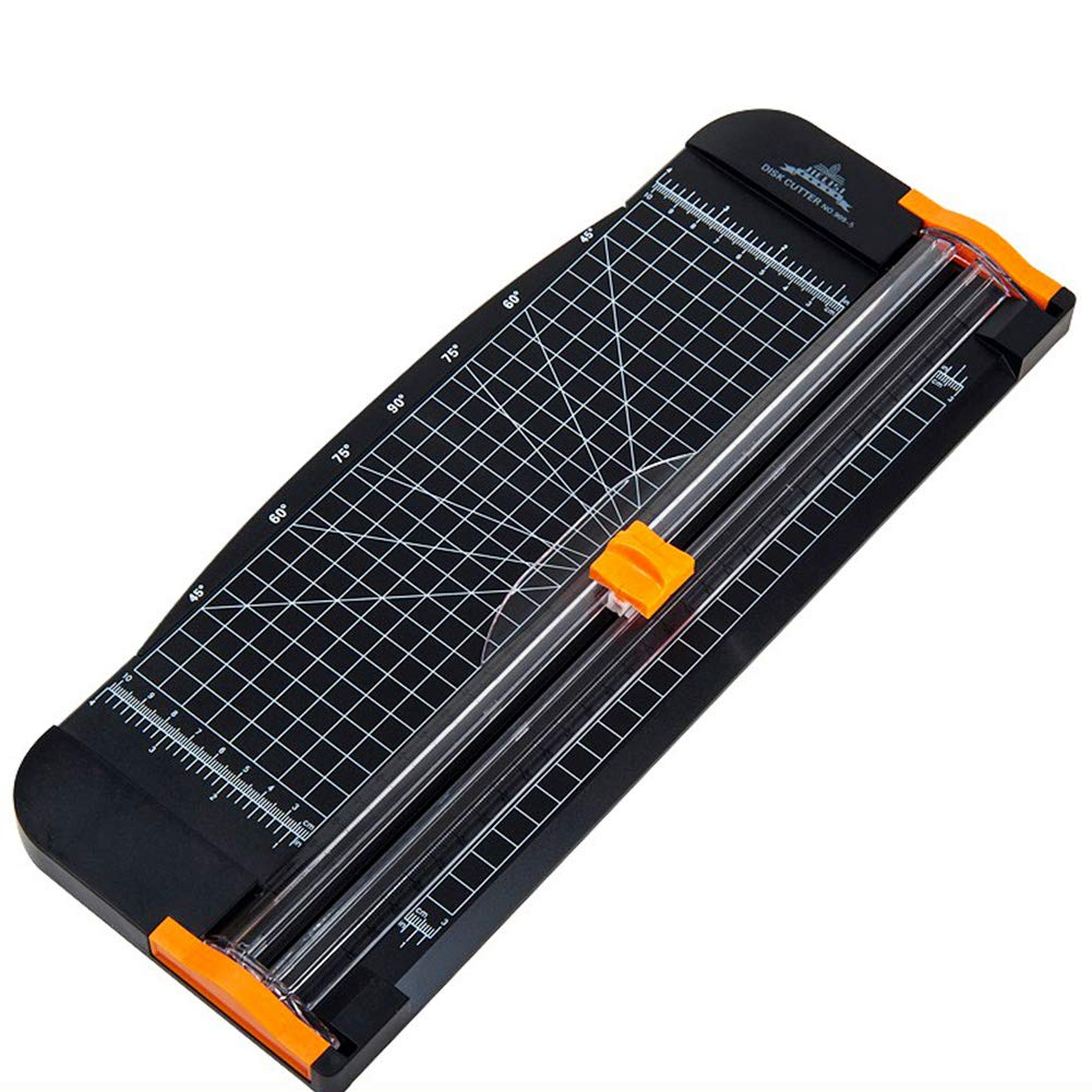 A4 Paper Cutter A4 Paper Cutter Trimmer Portable Guillotine, Scrapbooking Tool With Automatic Security Safeguard And Ruler, For Office Papers Cell Phone Film Plastic Film Photos Coupon Label Cardstock