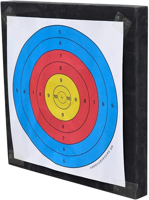 BESPORTBLE 20Pcs 40CM Target Paper Practical Professional Archery Paper Target Arrow Paper Shooting Accessories for Match Outdoor Daily Practice