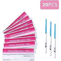 20 test de embarazo ultrasensibles (10mIU/ml) 20 HCG