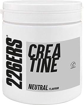 226ERS Creatine, Creatina Monohidratada en Polvo, Sin Gluten y Vegana, Sabor Neutral - 300 gr