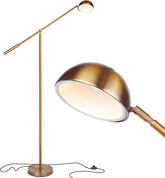 Brightech Gabriel Led Reading And Craft Floor Lamp For Living