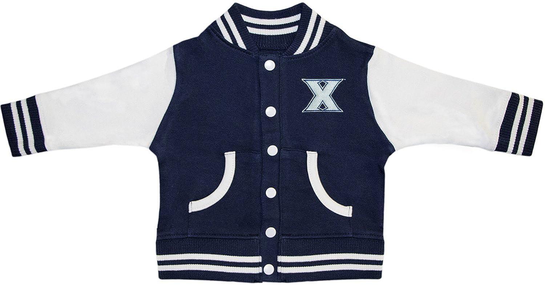 Creative Knitwear Xavier University Musketeers Varsity Jacket