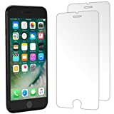 iPhone 7 Screen Protector, iSOUL [2-Pack] Premium Tempered Glass Screen Protector for Apple iPhone 7 [4.7 Inch] , With Ultra HD Technology - 0.3mm Thin / 9H Hardness / 3D Touch Compatible [Upgraded]