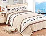 quilt only - Beautiful Embroidery 3 piece Quilt Set with Shams. Soft All-Season Bedspreads Set Coverlets Cover Set. King Size: : Quilt 100