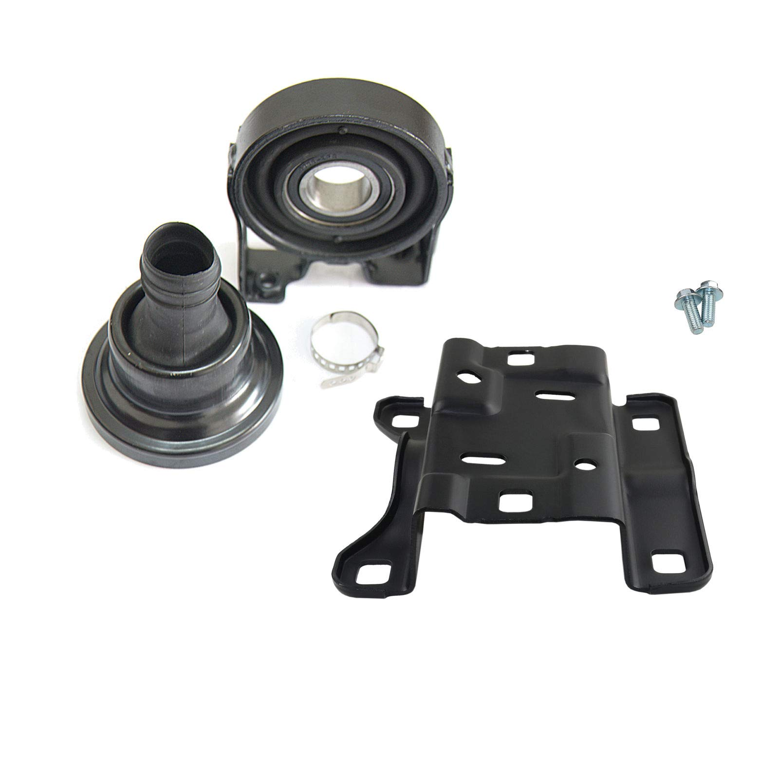 Driveshaft Center Bearing + Mounting Mount Kit 95542102021 For VW Touareg Cayenne 955