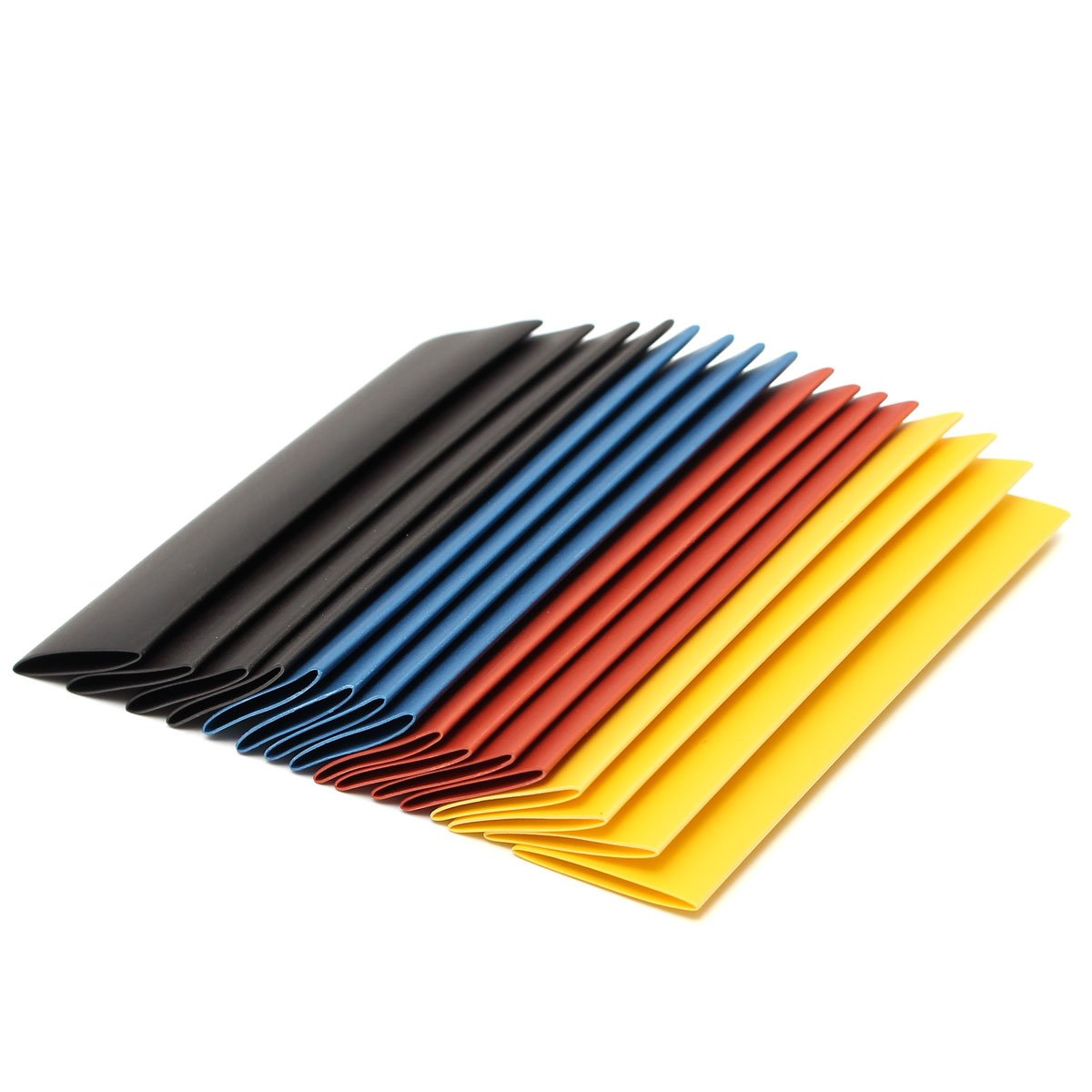 SOLOOP 328Pc 8 Sizes Assortment 2:1 Heat Shrink Tube Tubing Sleeve Wrap Wire 1-14mm Set
