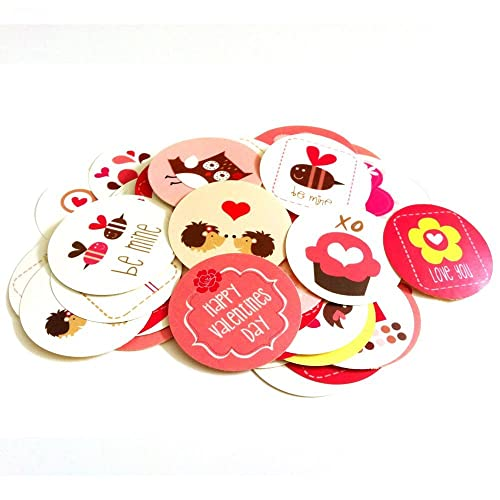 Valentine's Day Sticker Labels - Set of 50