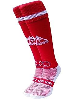 Wacky Sox Chaussettes de sport Trainer rouge au pays de Galles ... 522fe038787