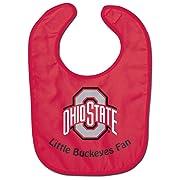 WinCraft NCAA Ohio State University WCRA1996714 All Pro Baby Bib