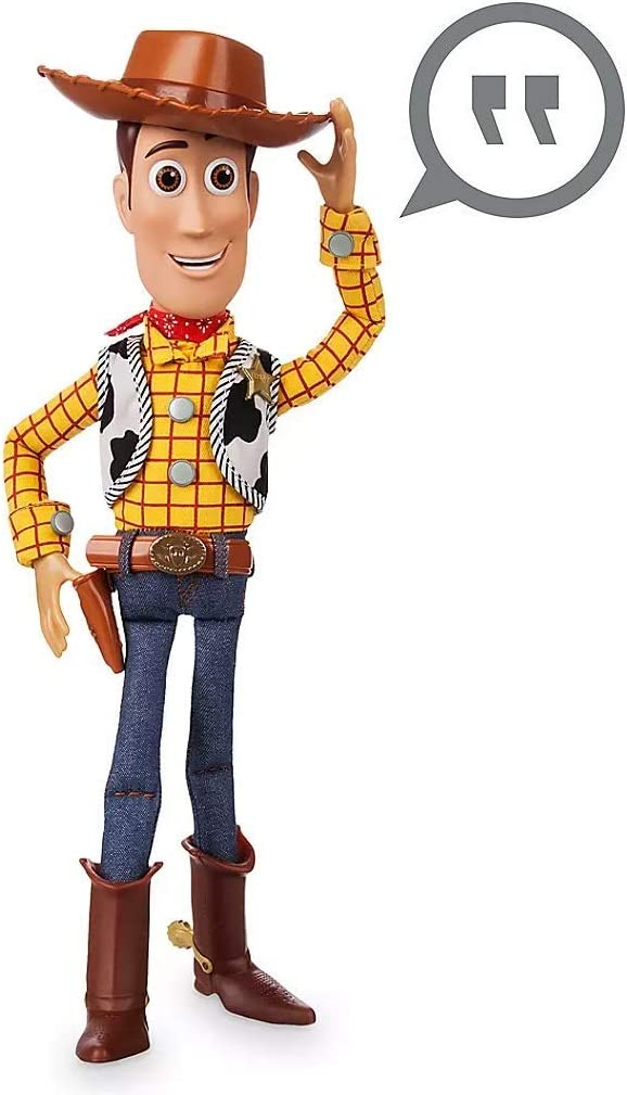Amazon Com Toy Story Pull String Woody 16 Talking Figure