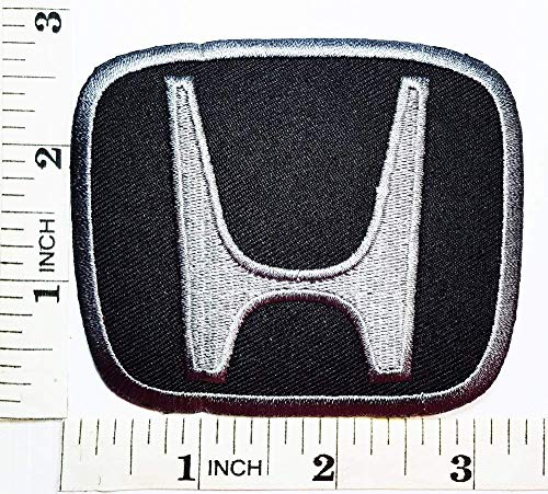 ch Symbol Jacket T-Shirt 4 x 3 inches Logo Sew Ironed On Badge Embroidery Applique Patch. ()