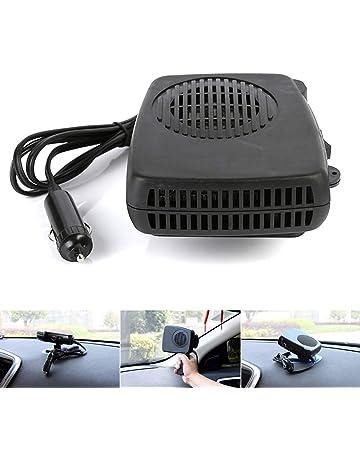 Ventilador calefactor de coche 12 V 200 W auto calentamiento desempañador secador vehículo portátil calentador de