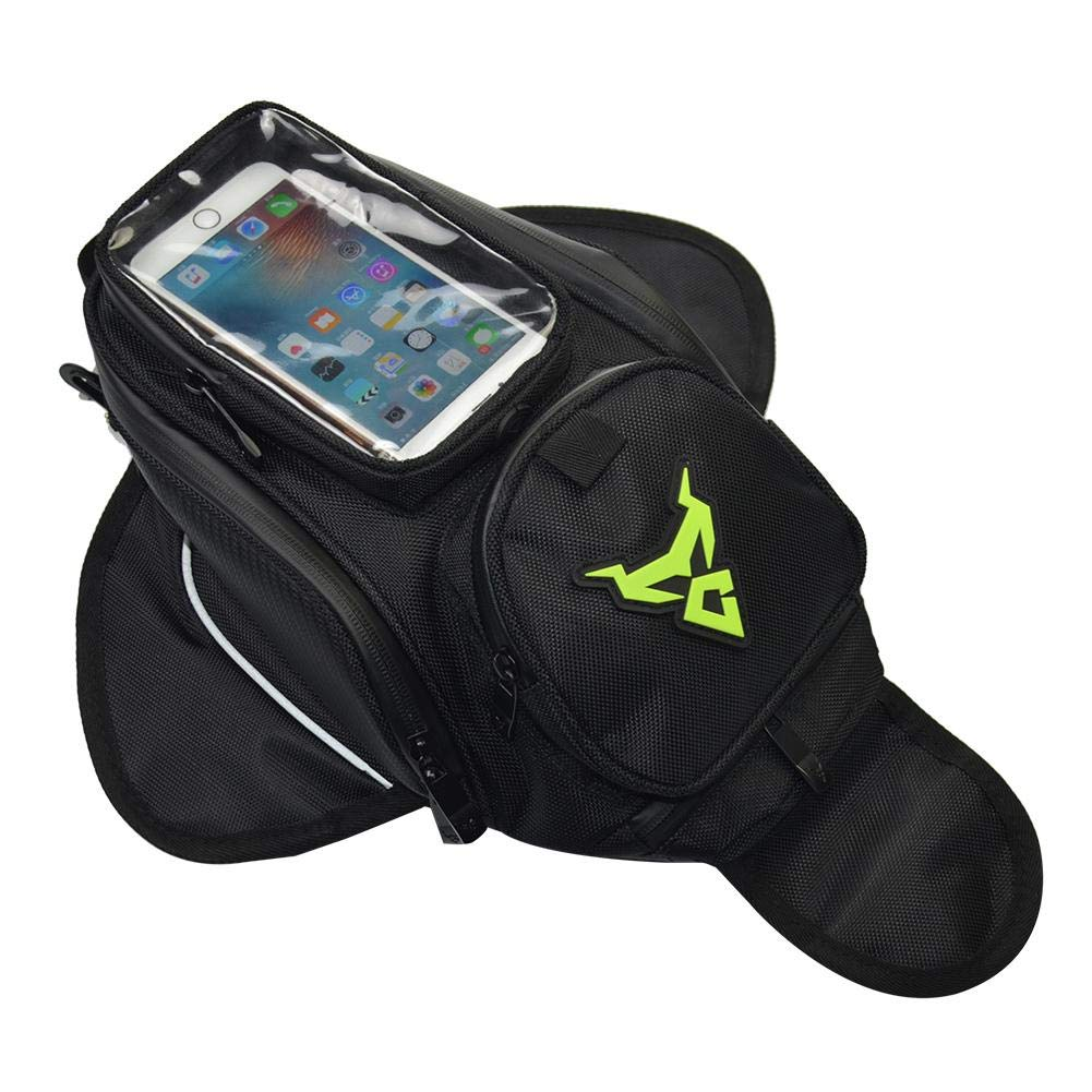 Bolsa magn/ético Universal para Honda Yamaha Suzuki Kawasaki Harley Pantalla t/áctil de Marco Frontal calcet/ín para iPhone Impermeable Bolsa Seasaleshop Bolsa de dep/ósito de Moto