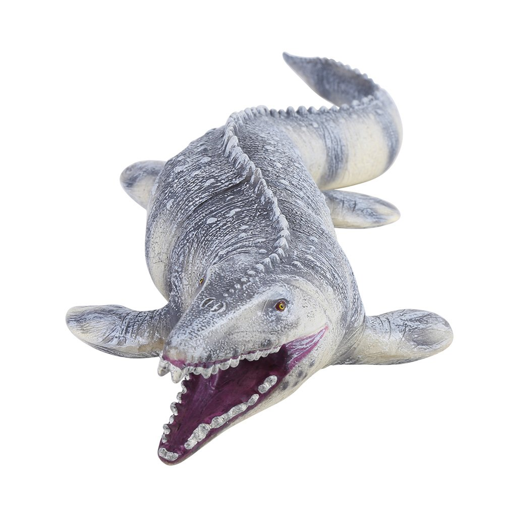 Mosasaurus Model, 45CM Realistic Dinosaur Animal Model Figure Kids Toys Christmas Gift Yosoo