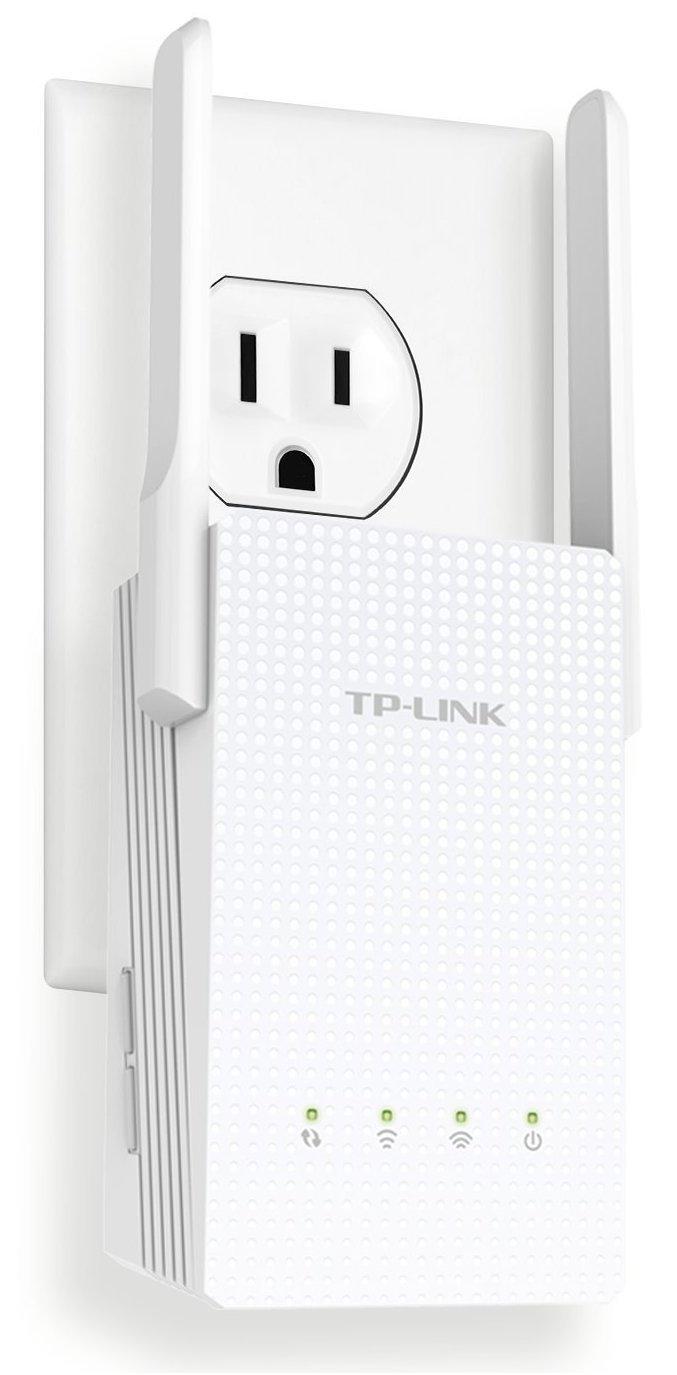 TP-Link AC750 Dual Band Wi-Fi Range Extender w/Gigabit Ethernet Port (RE210) (Certified Refurbished) by TP-Link