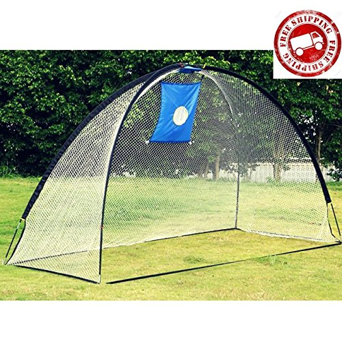 Golf Chipping Net Practice Net Training Driving for Backyard Hitting Mat and Net Pop Up Target & eBook by AllTim3Shopping by ATS (Image #2)