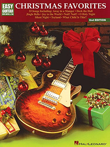 Christmas Favorites: Easy Guitar with Notes and Tab (Favorite Christmas Song Lyrics)