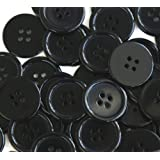 GANSSIA 1 Inch Buttons 25mm Sewing Flatback...