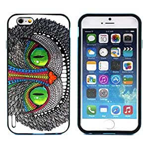 """For iphone 6 (4.7 Inch) Case, FocusUp Emerald Persian Cat Hybrid Armor Design [Shock Absorption] Dual Layer 2in1 TPU & PC Ultra Slim Frame Bumper Defender Protective Cover For Apple iphone6 4.7 """""""