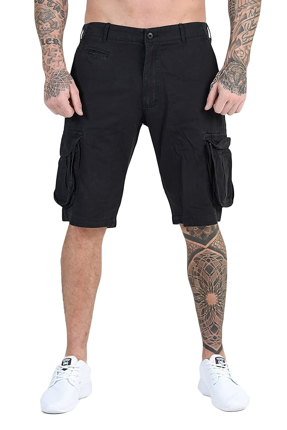 Mens Designer Casual Cargo Shorts Urban State KDX Holiday Cotton Summer  Combat Pants 4 Colours  Amazon.co.uk  Clothing 15a870f8d6b3