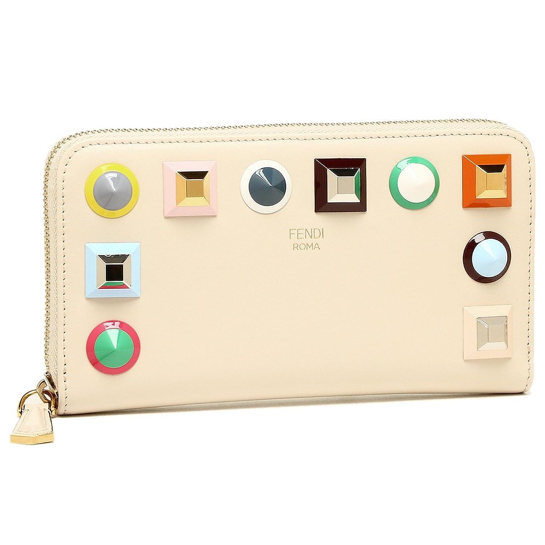[フェンディ] 長財布 レディース FENDI 8M0299 SR0 F11RX ホワイト [並行輸入品] B07D7KGVGM